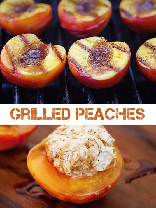 #1. Grilled Peached -- 18 Things You Didn't Know You Could Grill