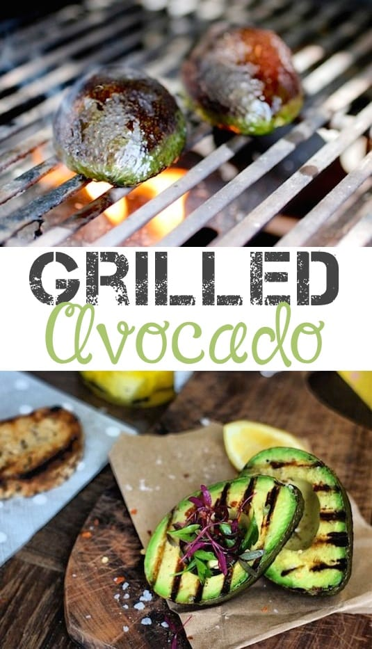 #14 Grilled Avocado -- 18 Things You Didn't Know You Could Grill