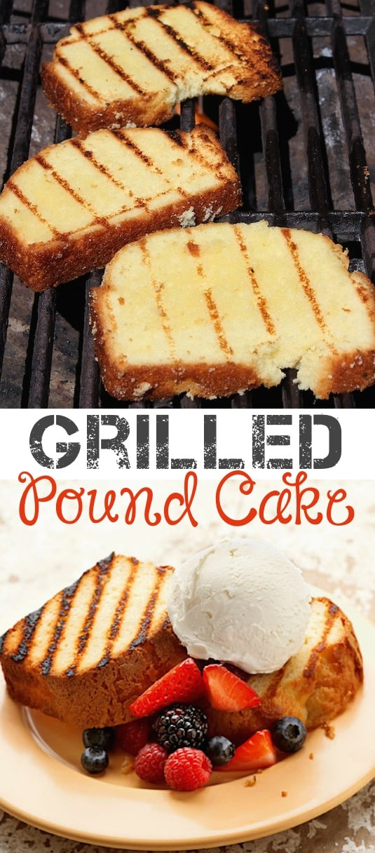 #15. Grilled Pound Cake -- 18 Things You Didn't Know You Could Grill