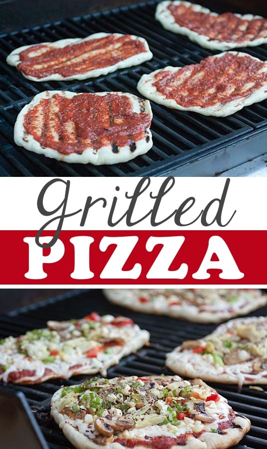 #17. Grilled Pizza -- 18 Things You Didn't Know You Could Grill