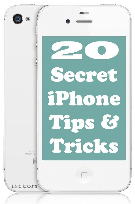20 Awesome iPhone Tips and Tricks (with picture tutorials). I don't know about you, but my iPhone goes everywhere with me, and in doing a little research, I've found that I've been using it for years without knowing all of the features, shortcuts, tips and tricks.