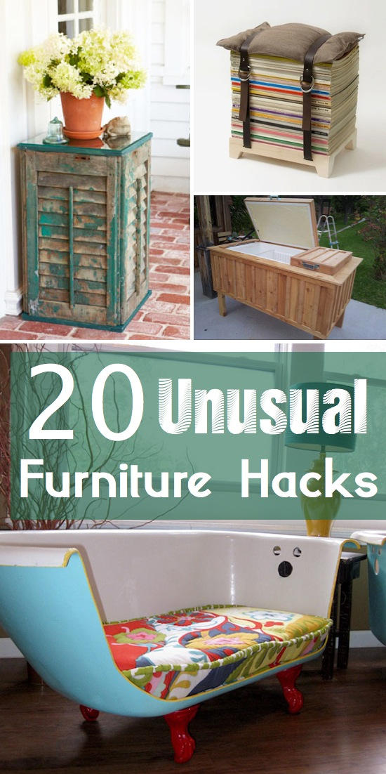 Incredible 20 Unique & Unusual Furniture Ideas 550 x 1102 · 189 kB · jpeg