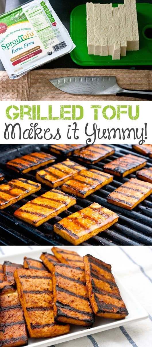 #3. Grilled Tofu -- 18 Things You Didn't Know You Could Grill
