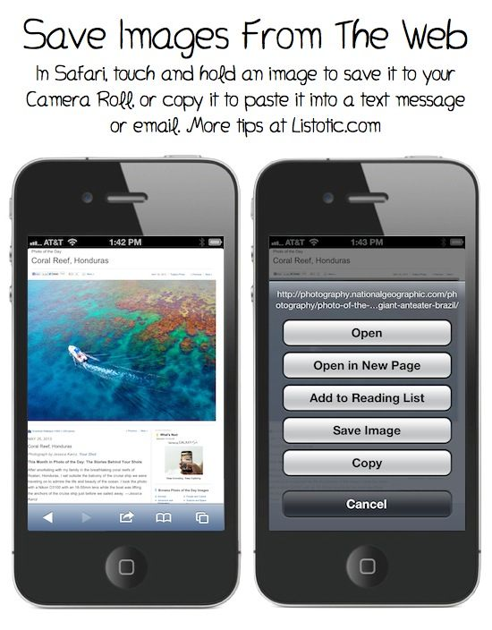 Lots of useful iPhone tips (with photo tutorials)