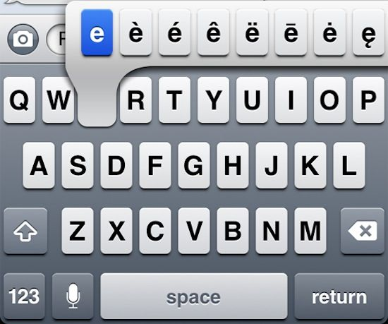 iphone keyboard tips