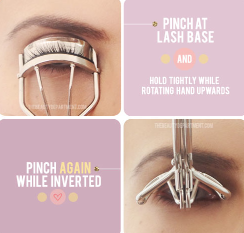 How to use your eyelash curler. -- Makeup tips and tricks for beginners, teens and even experts! These beauty hacks and step-by-step tutorials are perfect for women of any age, older or younger. Easy ideas and life hacks every girl should know. :) Listotic.com