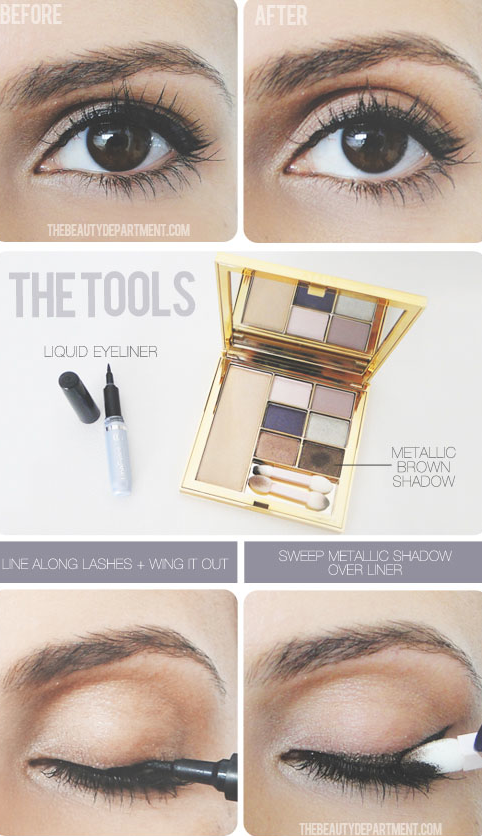 How to soften your eyeliner the easy way! -- Makeup tips and tricks for beginners, teens and even experts! These beauty hacks and step-by-step tutorials are perfect for women of any age, older or younger. Easy ideas and life hacks every girl should know. :) Listotic.com