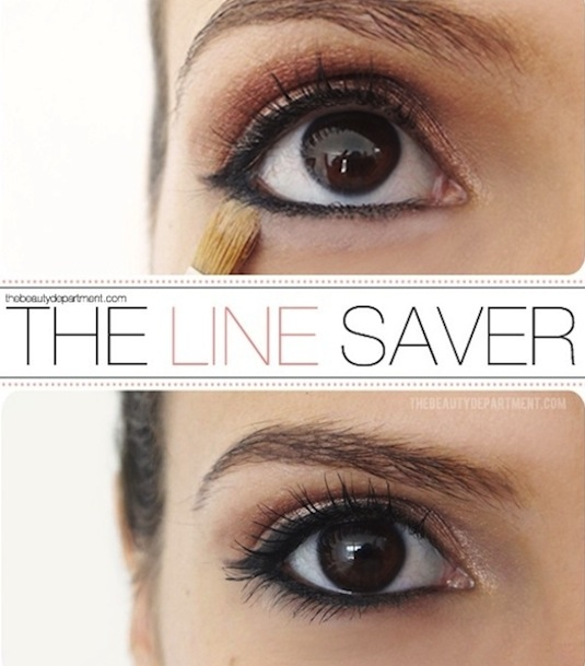 How to keep your eyeliner from running and smearing -- Makeup tips and tricks for beginners, teens and even experts! These beauty hacks and step-by-step tutorials are perfect for women of any age, older or younger. Easy ideas and life hacks every girl should know. :) Listotic.com