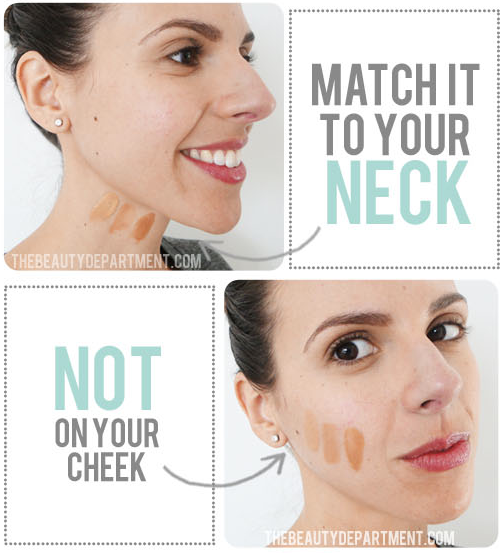 How to match your foundation -- Makeup tips and tricks for beginners, teens and even experts! These beauty hacks and step-by-step tutorials are perfect for women of any age, older or younger. Easy ideas and life hacks every girl should know. :) Listotic.com