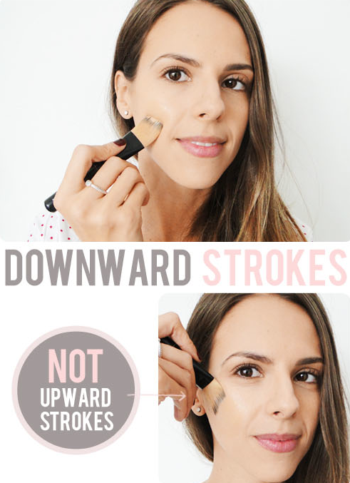 How to apply foundation -- Makeup tips and tricks for beginners, teens and even experts! These beauty hacks and step-by-step tutorials are perfect for women of any age, older or younger. Easy ideas and life hacks every girl should know. :) Listotic.com
