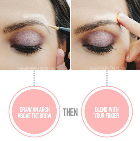 The instant eye lift trick! -- 32 Makeup Tips That Nobody Told You About