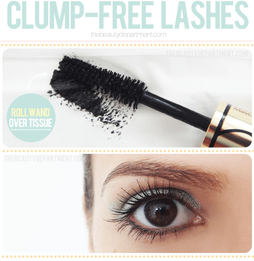 The simple trick to clump free mascara! -- Makeup tips and tricks for beginners, teens and even experts! These beauty hacks and step-by-step tutorials are perfect for women of any age, older or younger. Easy ideas and life hacks every girl should know. :) Listotic.com
