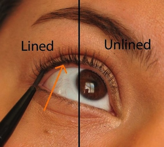 It's called tightlining, ladies. How to apply eyeliner for a natural look. -- Makeup tips and tricks for beginners, teens and even experts! These beauty hacks and step-by-step tutorials are perfect for women of any age, older or younger. Easy ideas and life hacks every girl should know. :) Listotic.com