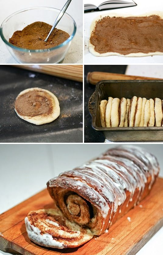 42 Mouthwatering Pull-Apart Recipes | Cinnamon Roll Pull-Apart Bread