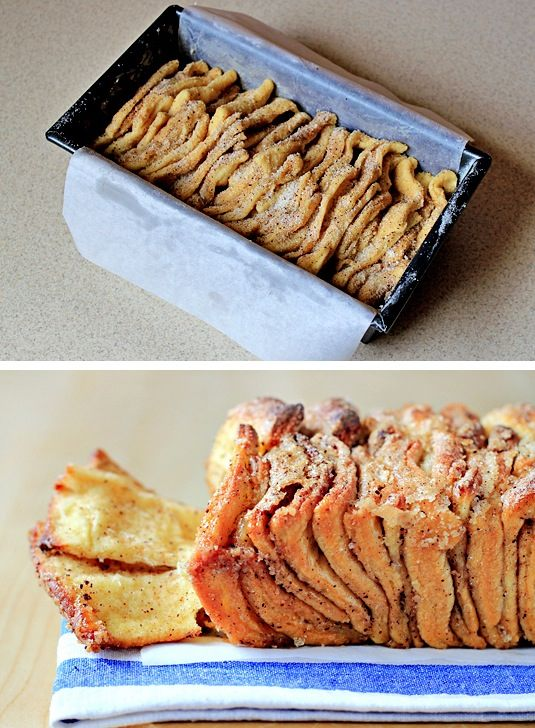 42 Mouthwatering Pull-Apart Recipes | Cinnamon Sugar Pull-Apart Bread