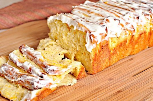 42 Mouthwatering Pull-Apart Recipes | Lemon Pull-Apart Coffee Cake