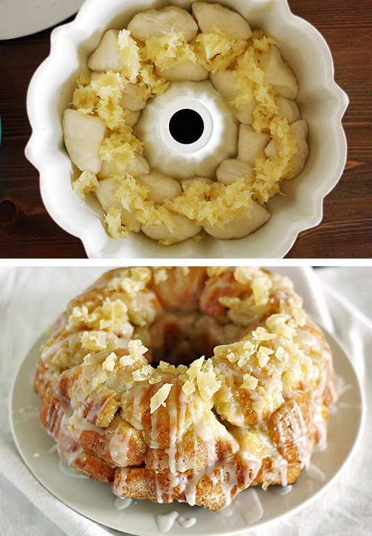 42 Mouthwatering Pull-Apart Recipes | Pina Colada Monkey Bread