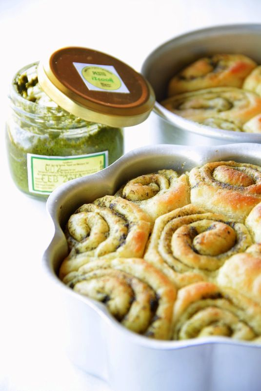 42 Mouthwatering Pull-Apart Recipes | Pull-Apart Pesto Rolls