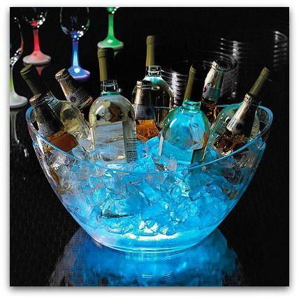 20 Cool Glow Stick Ideas | Glow Stick Beverage Tub