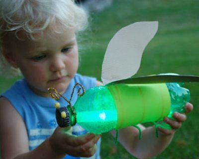Cool Glow Stick Ideas | Glow Stick Firefly