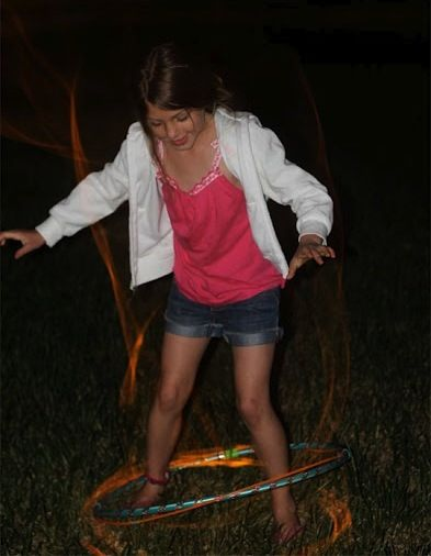 Cool Glow Stick Ideas | Glow Stick Hula Hoop