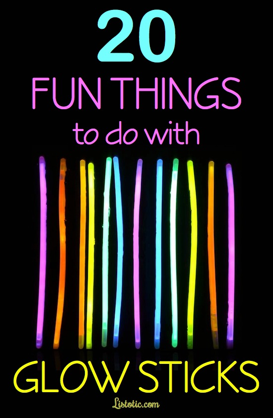 20 cool glow stick ideas for kids and parties with pictures awesome list of fun glow stick ideas with pictures who knew there were so solutioingenieria Images