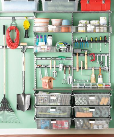 Garage organization articles