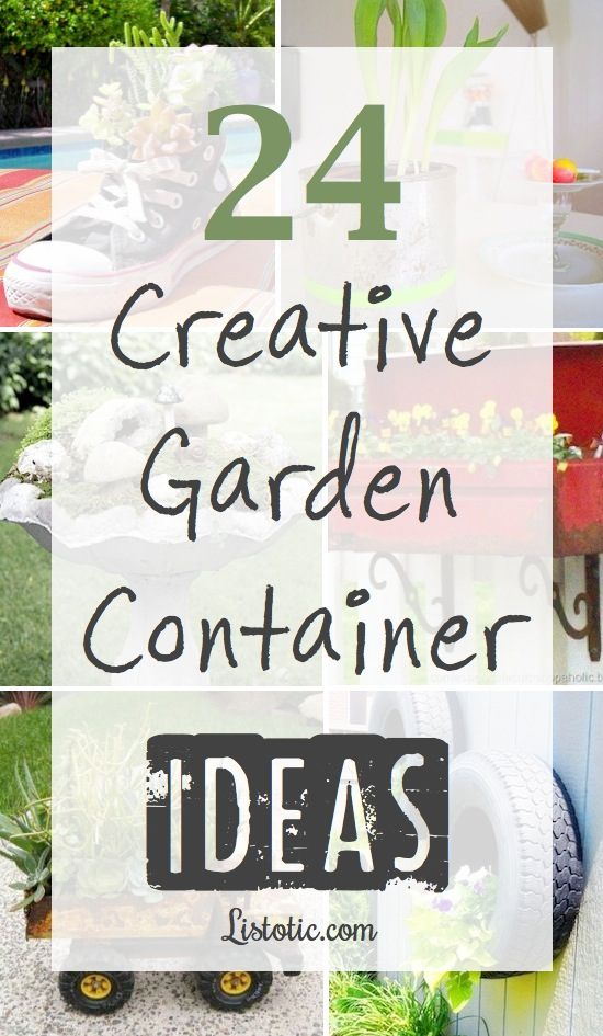 Garden Container Ideas container vegetable gardening tips techniques and ideas Lots Of Clever Garden Container Ideas You Can Make A Planter Out Of Just About
