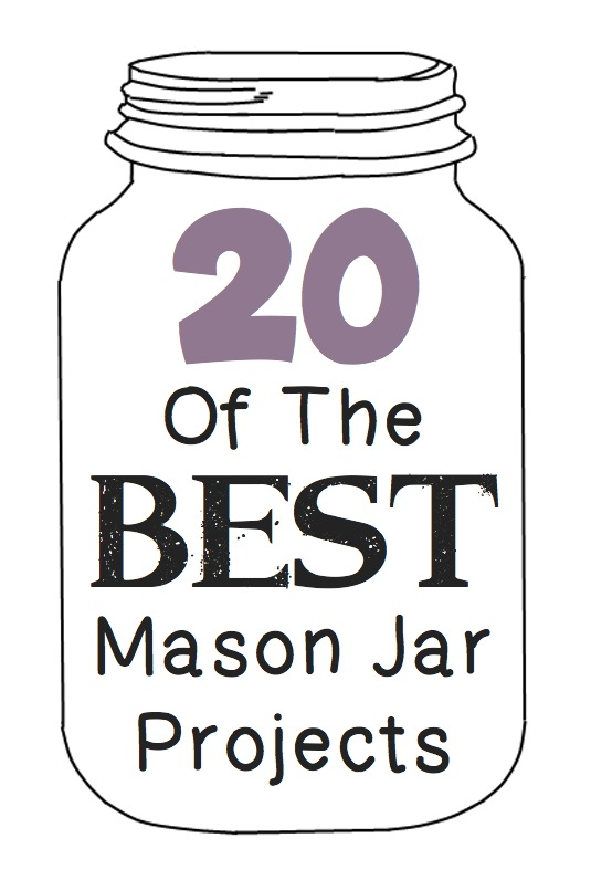 The 20 BEST mason jar projects and ideas! Listotic.com