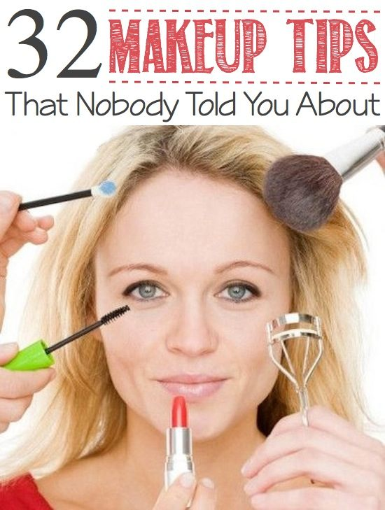 The best makeup tips and tricks!! Wish I had known these a long time