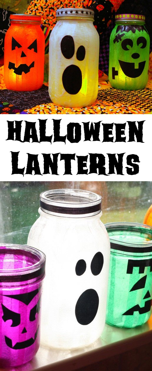 Easy and Cheap DIY Halloween Party Decor -- A lot of fun DIY mason jar crafts and projects here!