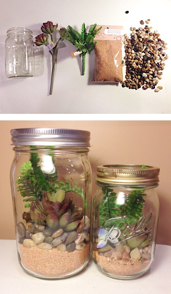 DIY mason jar crafts and ideas for Christmas, holidays, gifts, home decor and more! Kids and teens love these projects! Listotic.com