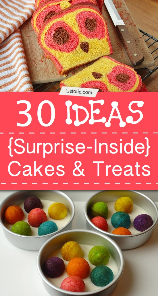 30 Peekaboo and Surprise-Inside Treats!! Listotic.com