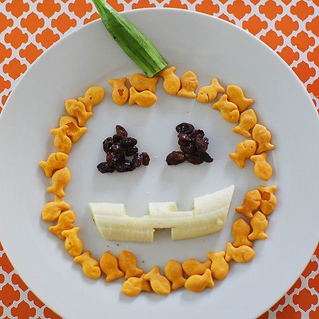 64 healthy halloween snacks for kids non candy for Creative ideas for halloween treats