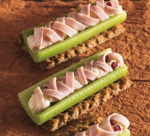 Celery mummies recipe.