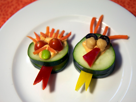 Cucumber monsters recipes for kids easy.