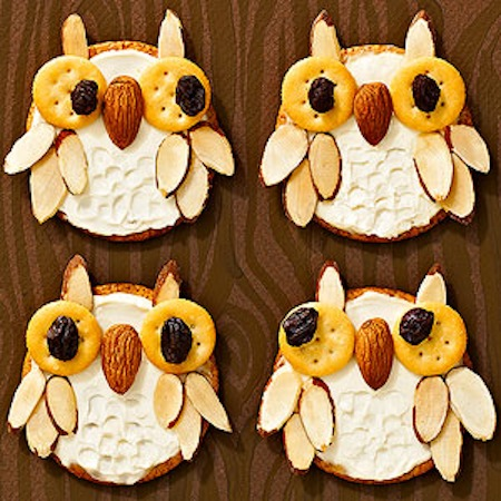 Owl crackers recipe with cream cheese.