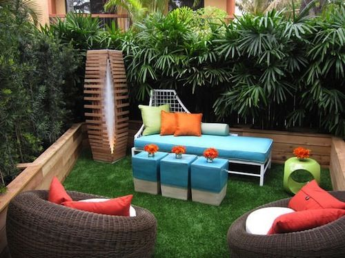 13 attractive ways to add privacy to your yard deck with lots of