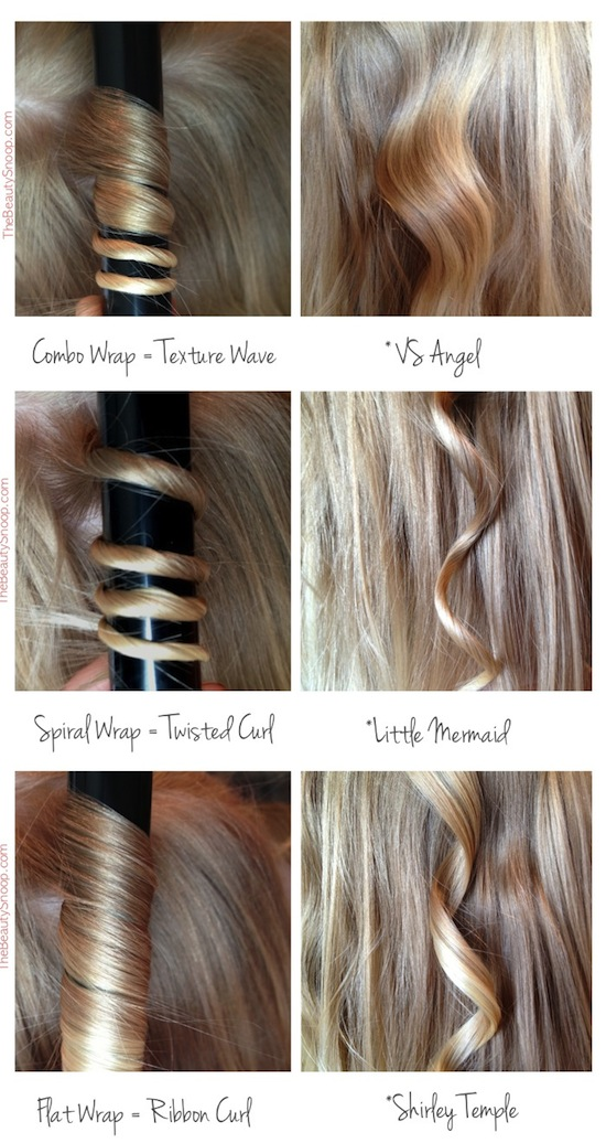Curling Iron tips and tricks -- Everything from styling to frizz and healthy remedies. Long or short hair, thick or thin... you are sure to find some useful and simple hair ideas here! Listotic.com