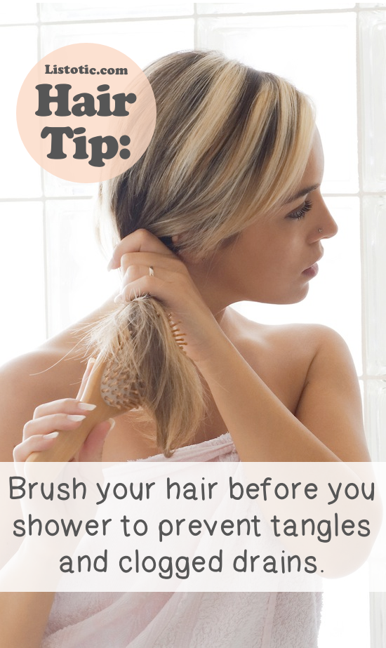 Lots of hair tips, tricks and hacks every girl should know! Everything from styling to frizz and healthy remedies. Long or short hair, thick or thin... you are sure to find some useful and simple hair ideas here! Listotic.com