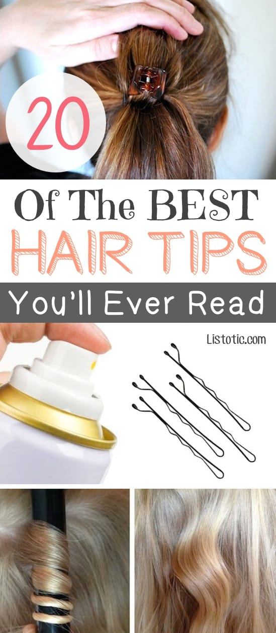 Astounding 20 Of The Best Hair Tips And Tricks With Pictures Hairstyle Inspiration Daily Dogsangcom
