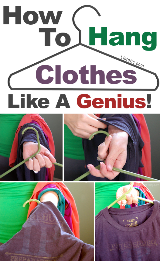 A great list of DIY style, clothing and life hacks every girl should know! Everything from organization to bra straps! Tips for teens and women. Listotic.com