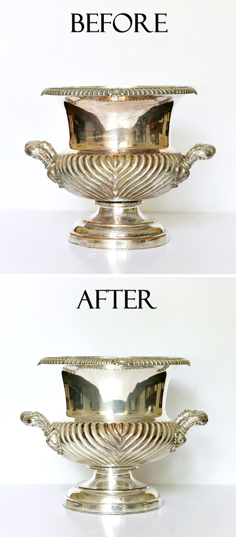 How to clean and polish silver. -- DIY household cleaning tips, tricks and hacks for your home bathrooms, kitchens, bedrooms, floors, furniture and more! Perfect for a lazy girl like me. Listotic.com