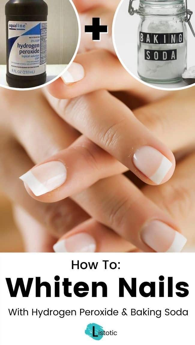 house hold products you can use to whiten nails at home