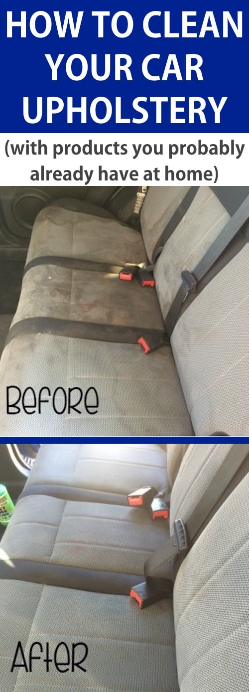 DIY Car cleaning tip for the interior seats! -- Listotic.com