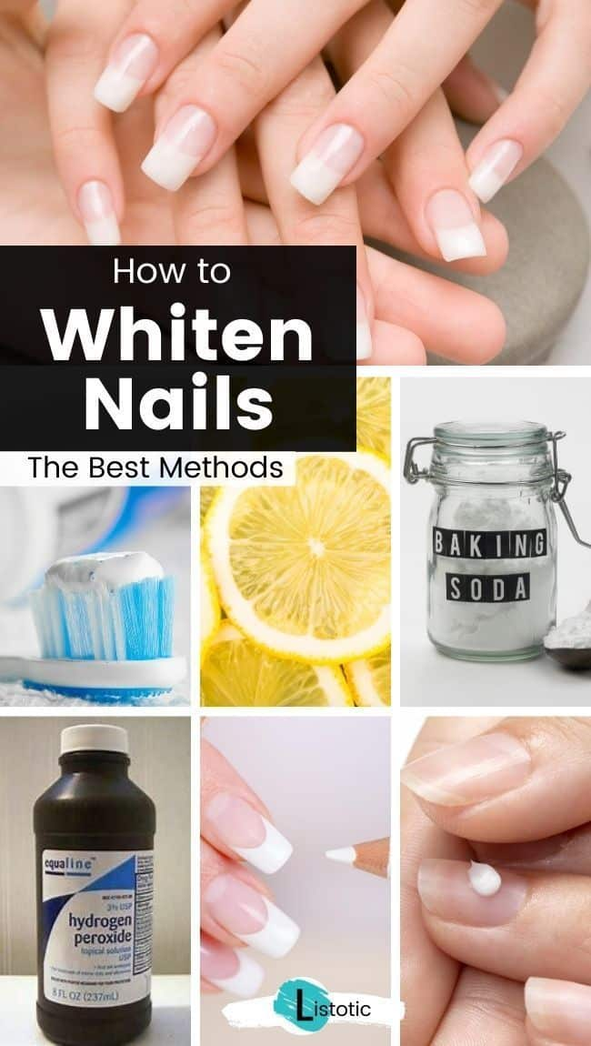 tips and tricks for white healthy nail care and whitened nails
