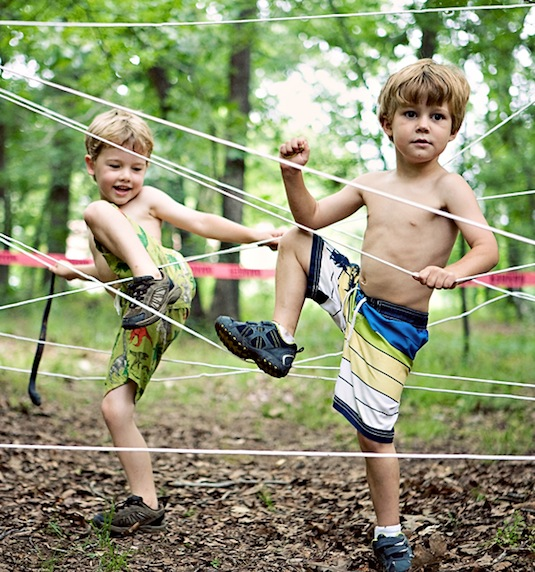32 Of The Best DIY Backyard Games You Will Ever Play -- Backyard obstacle course!