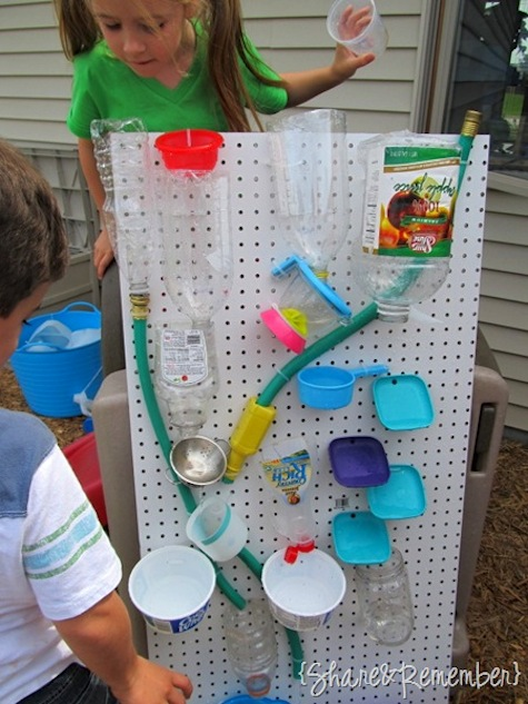 32 Of The Best DIY Backyard Games You Will Ever Play -- Turn a peg board into a ton of fun!