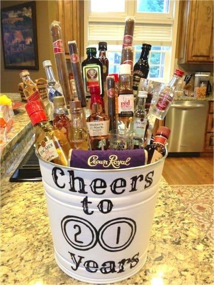 liquor gift basket