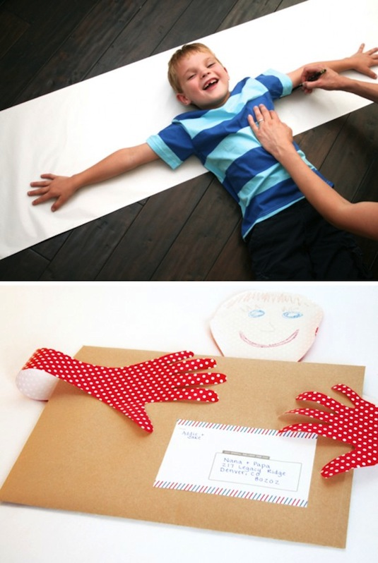 Cute DIY gift idea for grandparents. -- Easy DIY cheap gift ideas for Christmas, birthdays, boyfriends, girlfriends, family, friends and more! These simple, last minute crafts and projects make for special gifts anyone can do! Creative ideas to sell too! Listotic.com